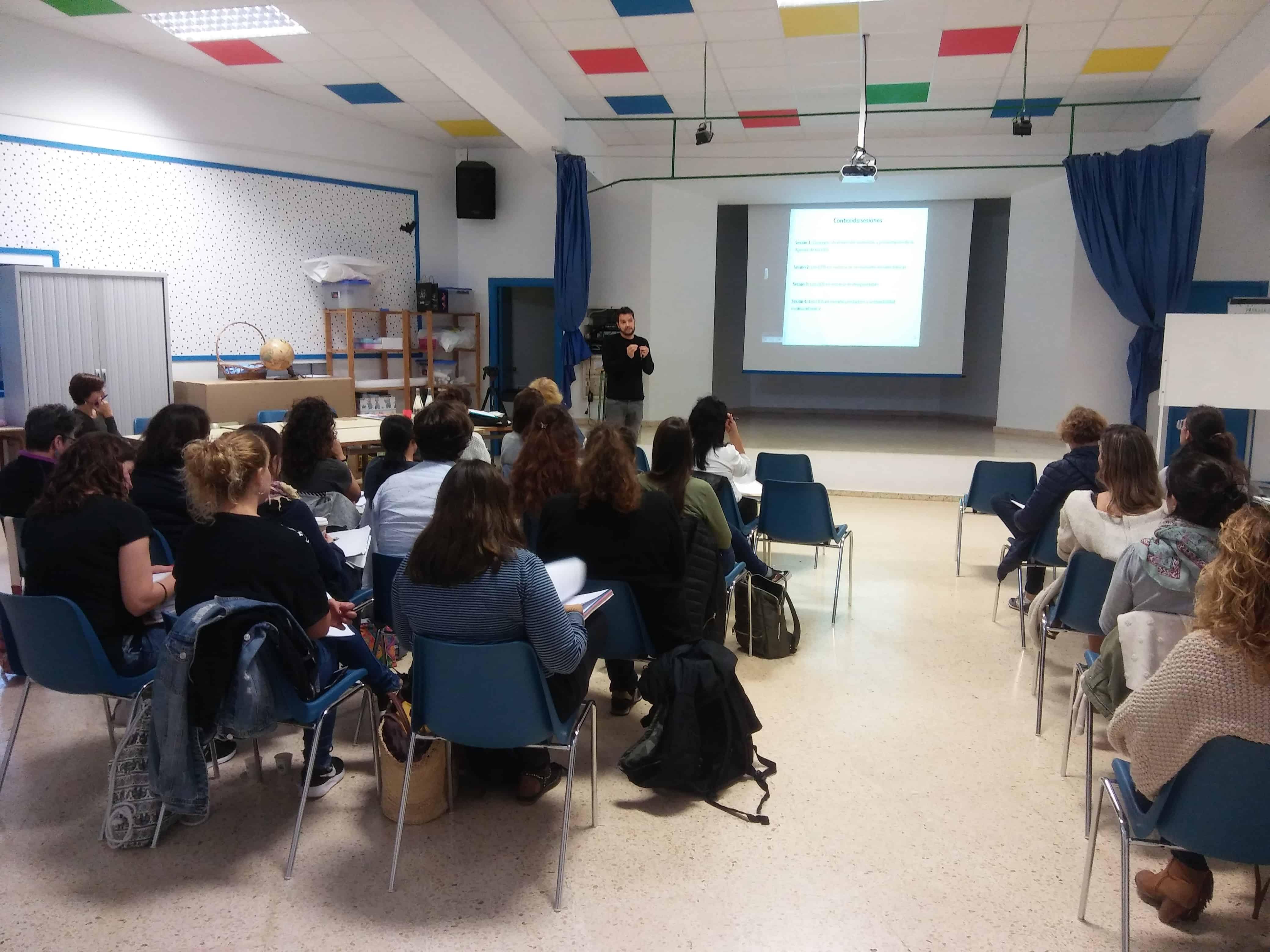 40 maestros de las Pitiusas se forman en los ODS