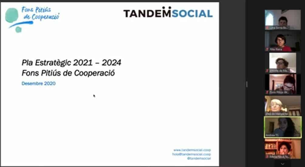 Validació del Pla Estratègic 2021-2024