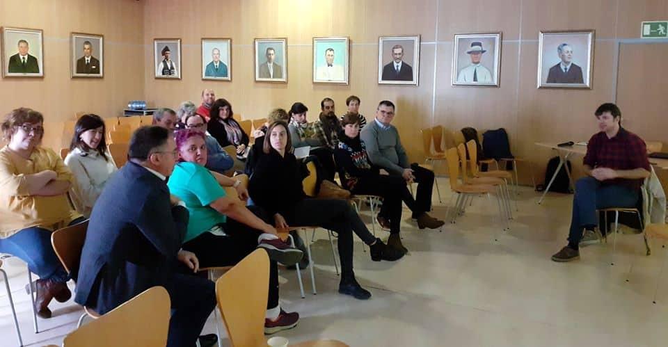 Trabajo sobre los ODS en el Ayuntamiento de Sant Josep con Nacho Martínez